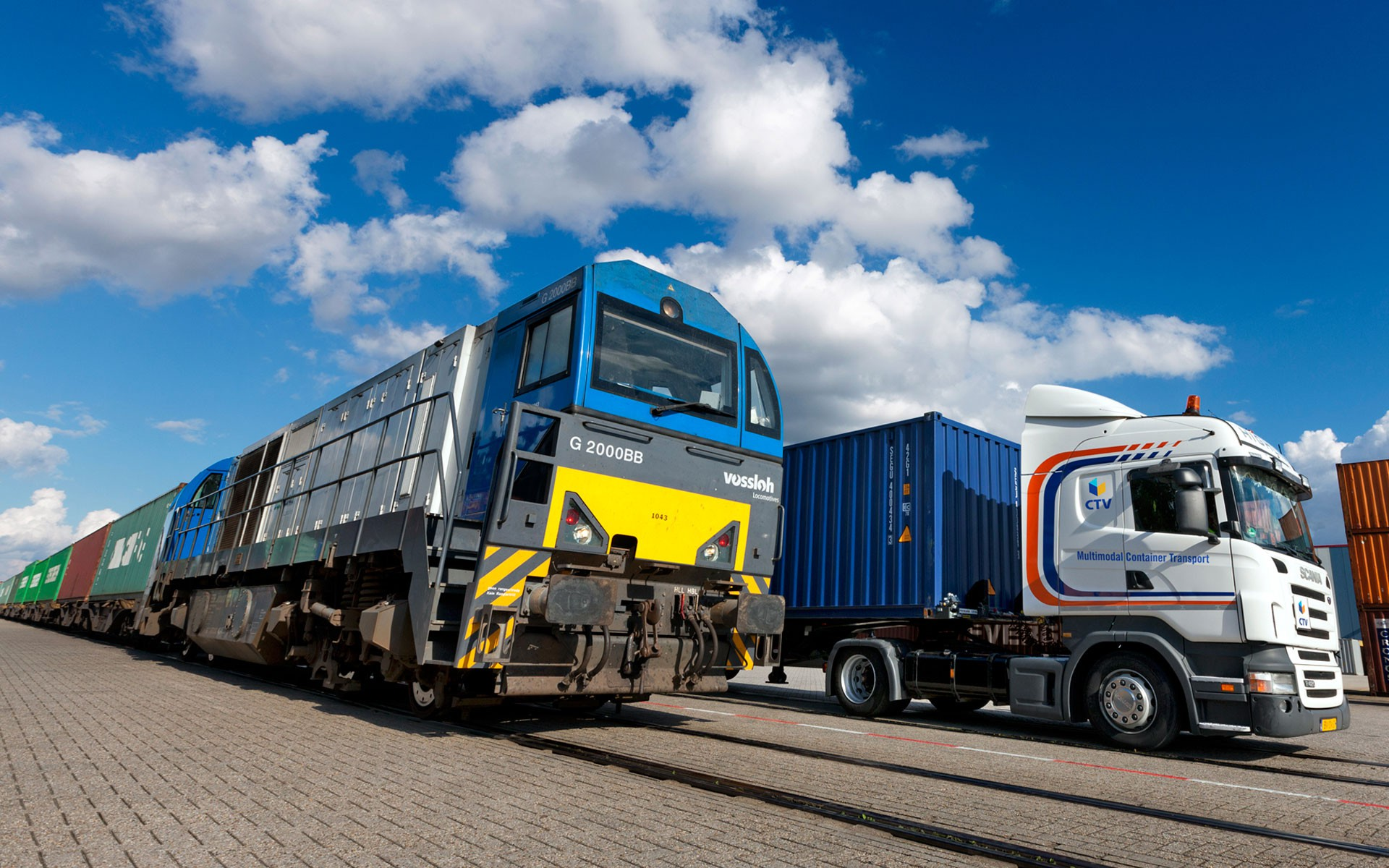 Intermodaal transport door heel Europa